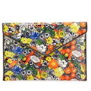 Rebecca Minkoff Leo Floral Envelope Clutch Bag